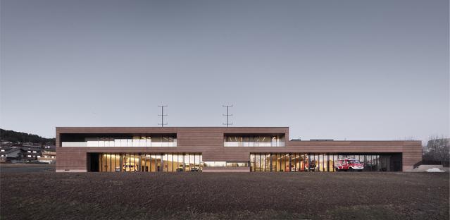 Roland Baldi Architects, Centro di protezione civile Renon