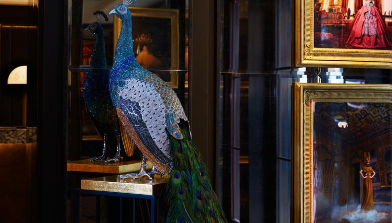Vita da dandy, Mayfair Townhouse a Londra di Goddard Littlefair