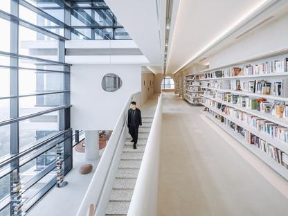 The Satori Harbor Library, una biblioteca di Wutopia Lab a Guangzhou