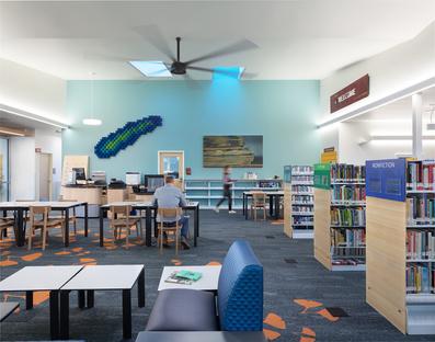 Studio Fivedot, una biblioteca al posto di un casinò