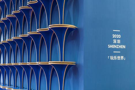 Economia circolare e design, un padiglione di Various Associates