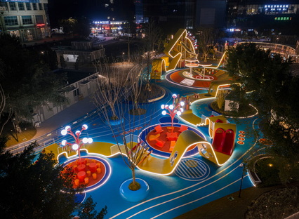 Pegasus Trail di 100architects, attivatore urbano a Chongqing
