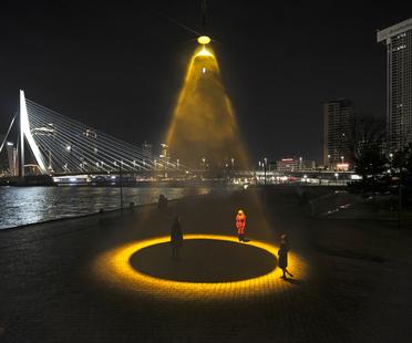 Urban Sun di Daan Roosegaarde, creatività contro il Covid-19