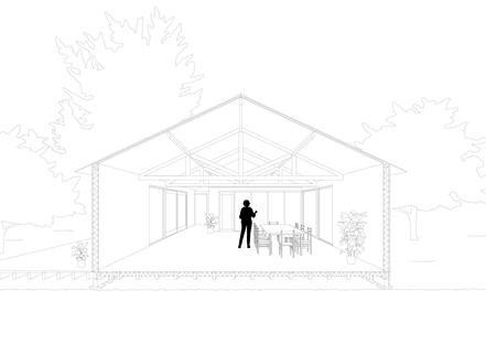 Studio nel frutteto di XVW architectuur