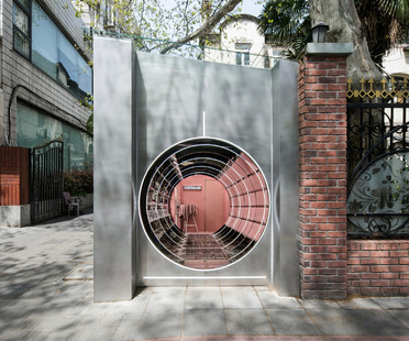 Nax Architects firma il negozio pop-up di Cosmetea a Shanghai