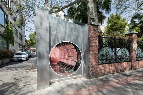 Nax Architects firma il negozio pop-up di Cosmetea a Shanghai