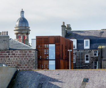 Faithlie Centre, trasformazione di Moxon Architects a Fraserburgh, UK