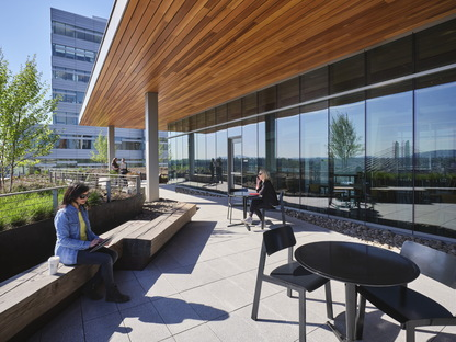 Knight Cancer Research Building di SRG Partnership è LEED Platinum