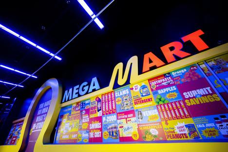 Omega Mart di Meow Wolf a Las Vegas, un mondo parallelo