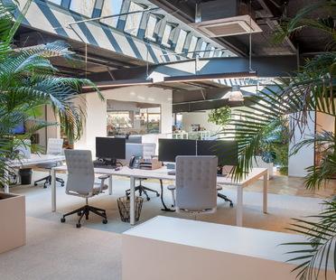 Da magazzino ad ufficio, trasformazione di Metaform