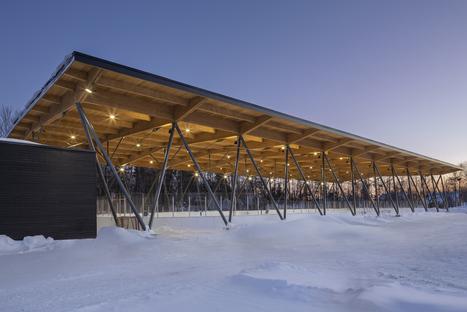 Architettura premiata per la tradizione sportiva nel Quebec
