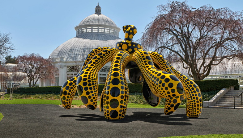 Mostra KUSAMA: Cosmic Nature al New York Botanical Garden