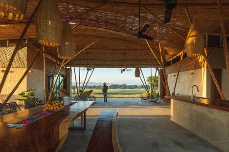 Casa Traversa di Marina Vella, un'estensione del paesaggio