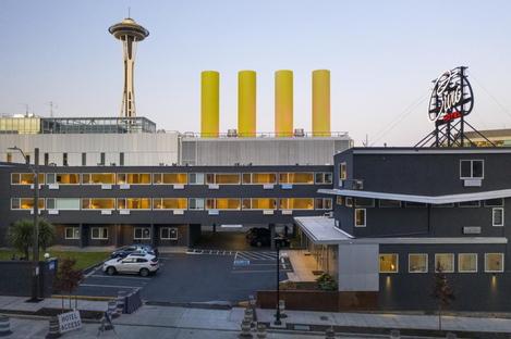 Civic Hotel a Seattle, il passato rivisto da Wittman Estes