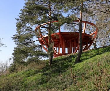 Stadtkrone, land art di Observatorium a Dorsten