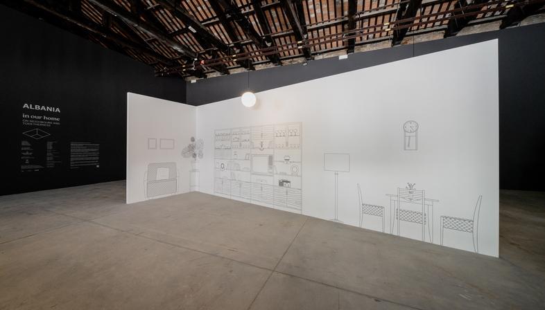 In our Home, Padiglione Albania alla 17a Biennale di Architettura
