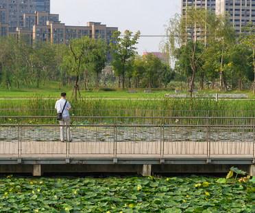 Un polmone verde, Jiading Park di Sasaki
