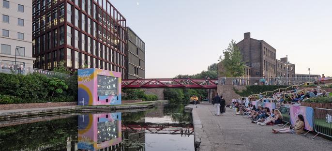 Esperance Bridge di Moxon Architects a King's Cross, Londra