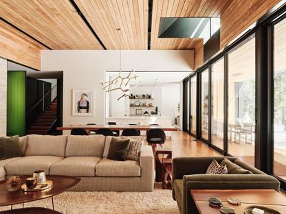 Forest House di Faulkner Architects, vivere nel bosco