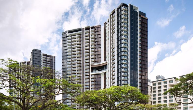 Design sostenibile, le nuove torri Seaside Residences a Singapore di ADDP Architects
