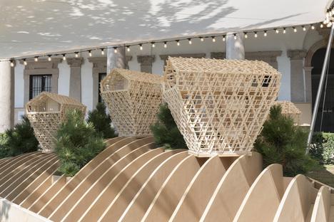 Peter Pichler Architecture, Vertical Chalets installazione a Milano