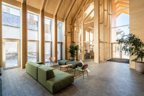 Costruire per la comunità, smartvoll a Großweikersdorf, Austria