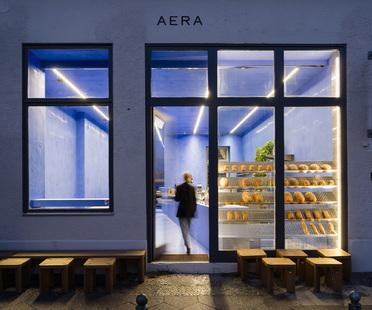 Gonzalez Haase AAS firma Aera, una panetteria a Berlin-Mitte