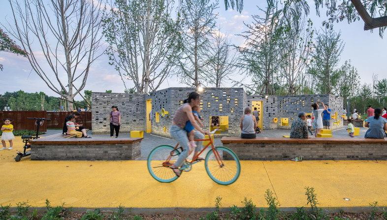 Songzhuang Micro Community Park di Crossboundaries