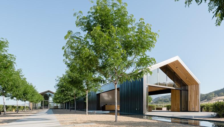 MFLA Landscape Design Studio e la cantina più sostenibile degli USA