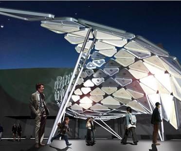 Solar Shift, un'istallazione di luce interattiva alimentata con energia pulita