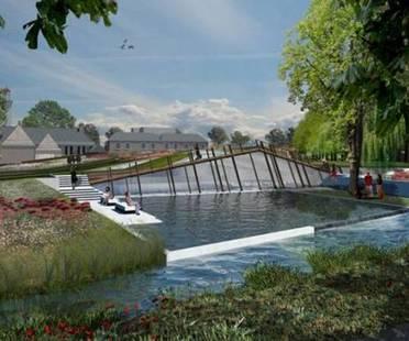Aggiunta al Drents Museum offre nuovi giardini e luce naturale