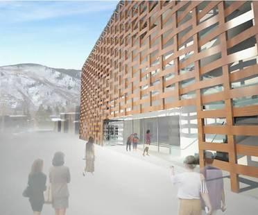 Aspen Art Museum, luce naturale e trasparenza