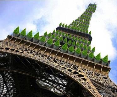 Si propone una trasformazione verde per la Tour Eiffel
