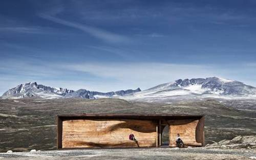 Snøhetta: Wild Reindeer Centre Pavilion in Norvegia