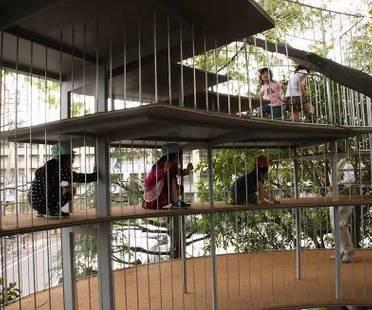 """""""Ring Around a Tree"""": ampliamento di un'asilo a Tokyo"""