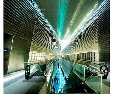 Stadium MRT Station, Singapore by WOHA