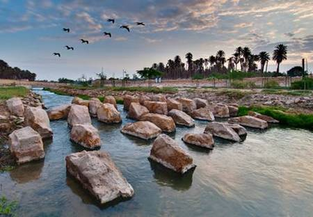 Wadi Hanifa Wetlands. Recupero di un'oasi.
