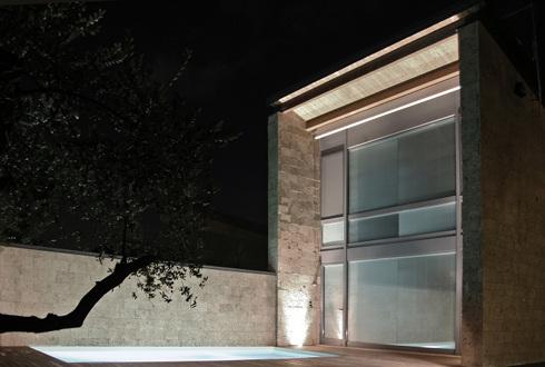 Architettura e amicizia progetto di romano adolini for Aggiungendo un portico ad un ranch