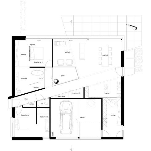 Una casa a basso impatto ambientale per la terza eta for Planimetrie della casa quadrata