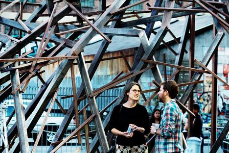 """""""Lebbeus Woods is an Archetype"""". Mostra allo SCI-Arc."""