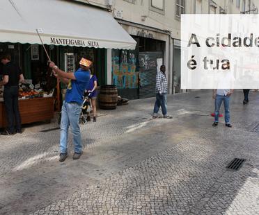 Triennale di Architettura di Lisbona. Civic Swing by estudio SIC