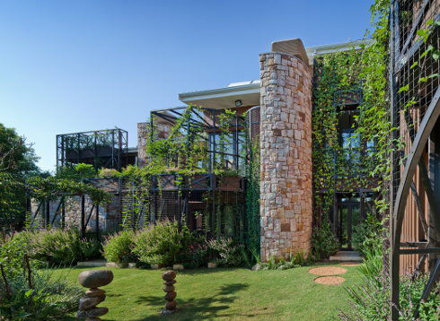 Architettura verde house jones di era architects for Architettura verde