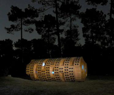 Natura e architettura: Le Tronc Creux di Bruit du Frigo