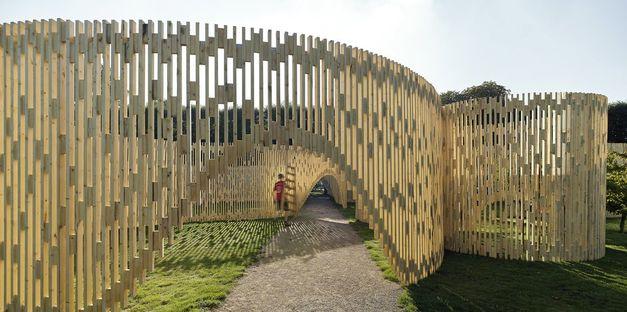 Un padiglione magico a Copenhagen.
