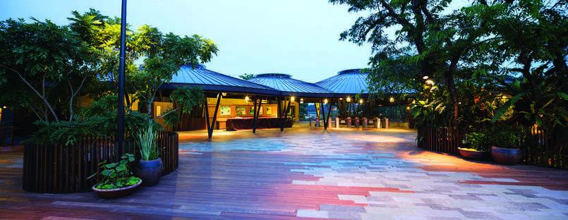 Parco tematico a Singapore: River Safari di DP Architects.