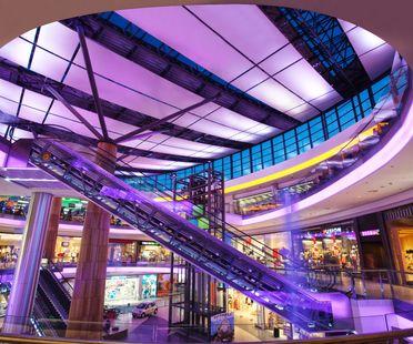 Una Shopping Mall a Burgas, Bulgaria.