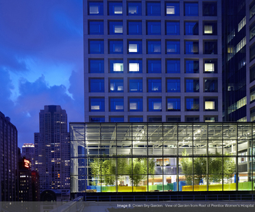ASLA Professional Awards: The Crown Sky Garden, Chicago.