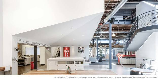 Il nuovo headquarter di Pinterest. Schwartz and Architecture