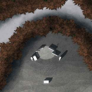Land art, architettura e spettacolo: Klemet lo sciamano.