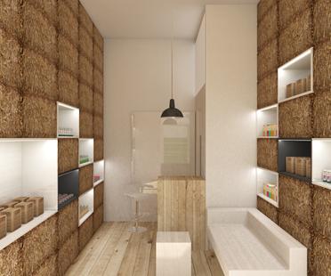 Bellezza naturale: il negozio Pieknalia di Hornowski Design.
